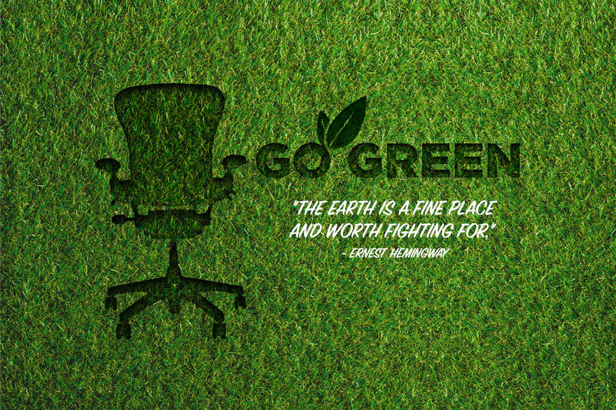 Go Green with Upcycled Office Furniture.