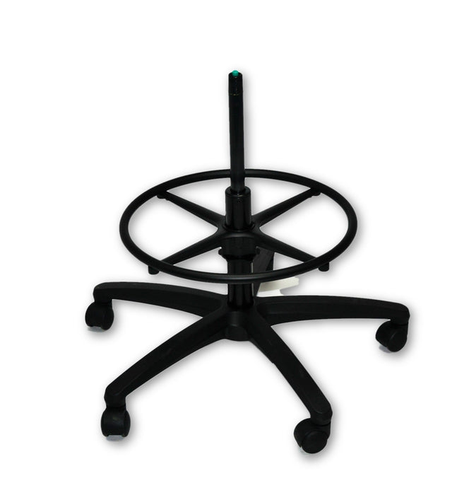 Universal Office Chair Base with Castors and Draughtsman Ring