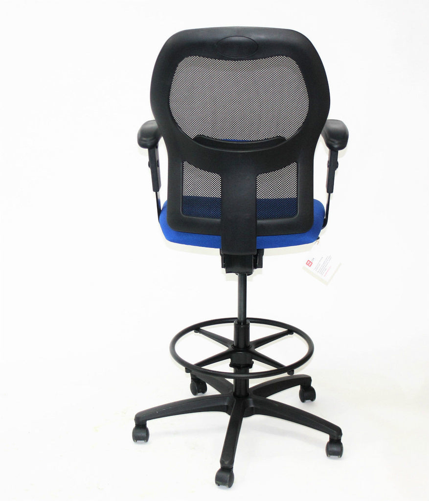 Ahrend 160 Type Draughtsman chair Blue seat