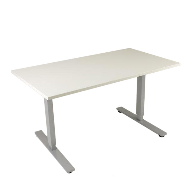 2ndhnd Electric Height adjustable Desk. 1400 x 800
