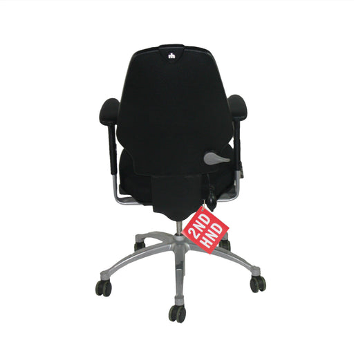 RH LOGIC  MED BACK ERGONOMIC OFFICE CHAIR
