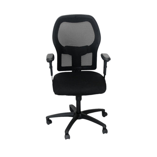 Ahrend 160 Type Black Chair with black base