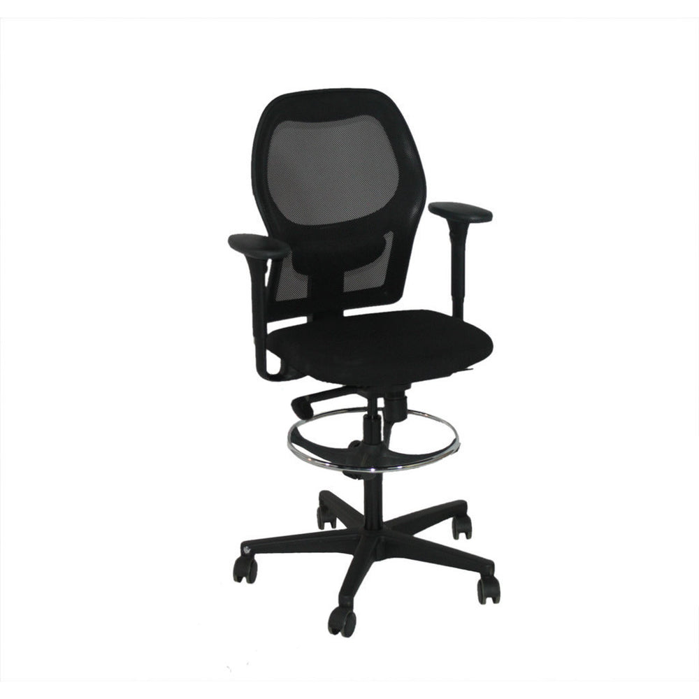Ahrend 160 Type Chair Chair Chair Mesh Back Draftsman Chair New Chair