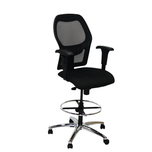 Ahrend 160 Type draughtsman chair Aluminium base