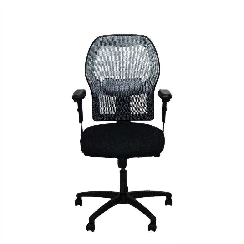 ... Ahrend 160 Type Silver Mesh Task Chair ...