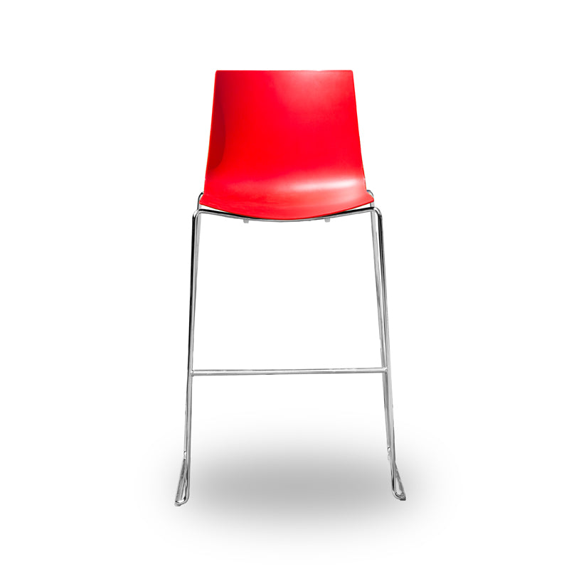Arper Catifa 46 - Bar Stool - Red