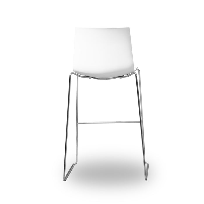 Arper Catifa 46 - Bar Stool - White