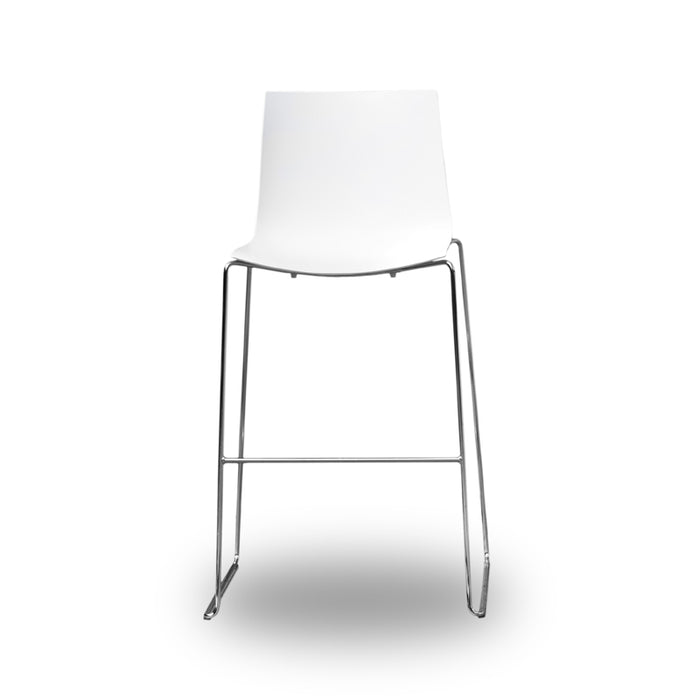 Fabulous Arper Catifa 46 Bar Stool White Caraccident5 Cool Chair Designs And Ideas Caraccident5Info