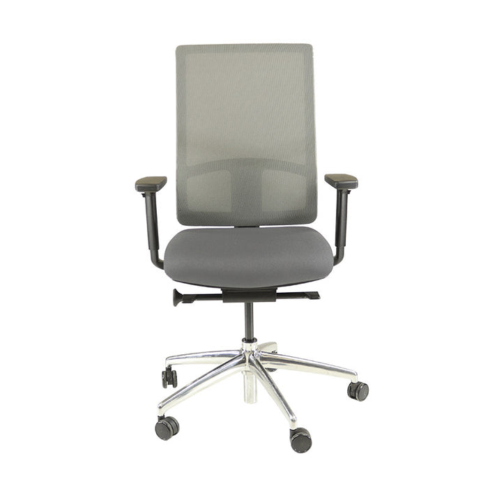 Boss Design Q Chair in New Grey Fabric