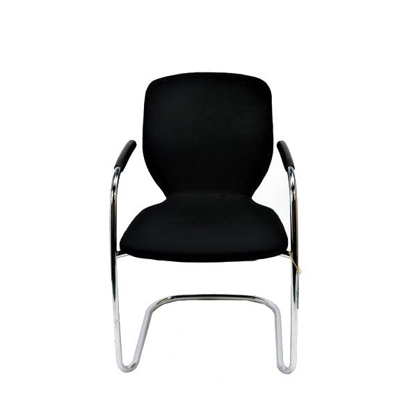 Boss Design Visitor Arm Chair in original Black fabric