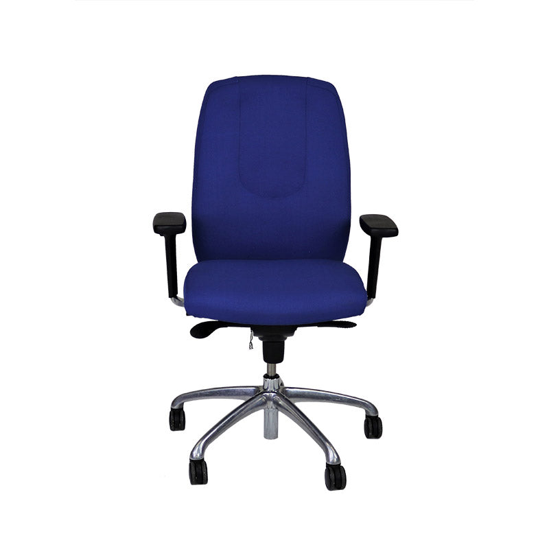 Boss Neo Task Chair in New Blue Fabric