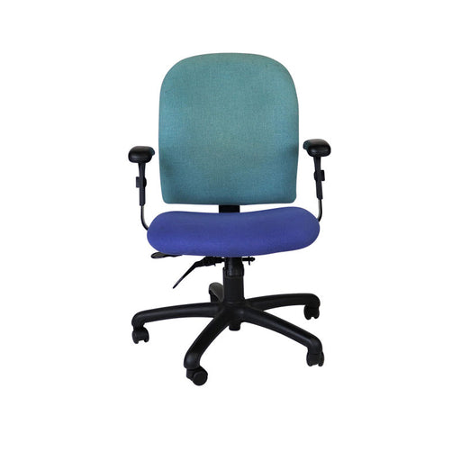 Connection Task Chair in Blue Fabric