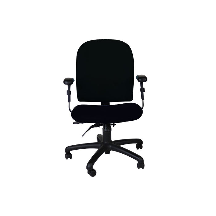 Connection Task Chair in New Black Fabric