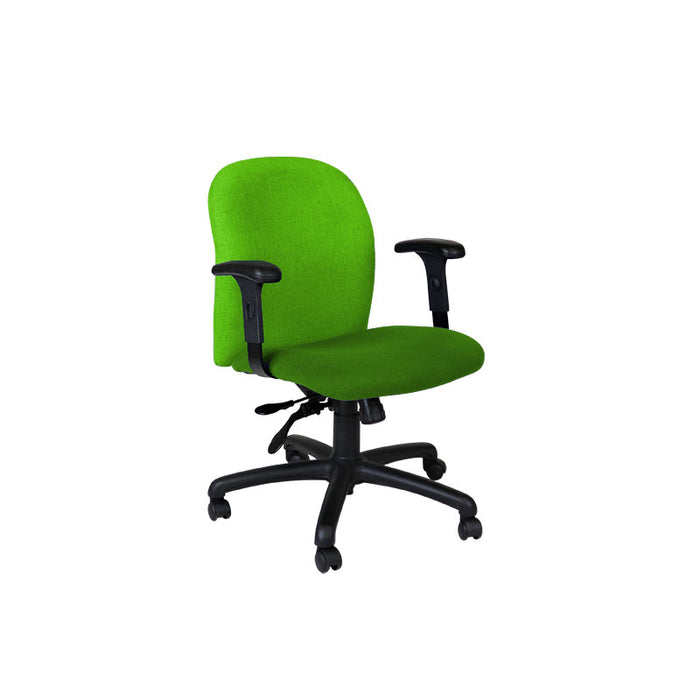 Connection Task Chair in New Green Fabric