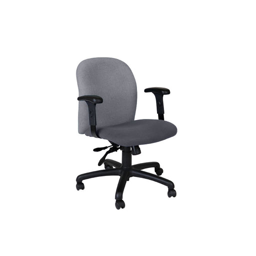 Connection Task Chair in New Grey Fabric