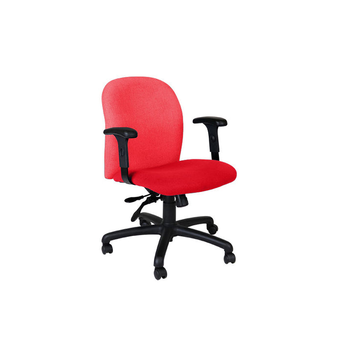 Connection Task Chair in New Red Fabric