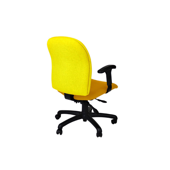 Connection Task Chair in New Yellow Fabric