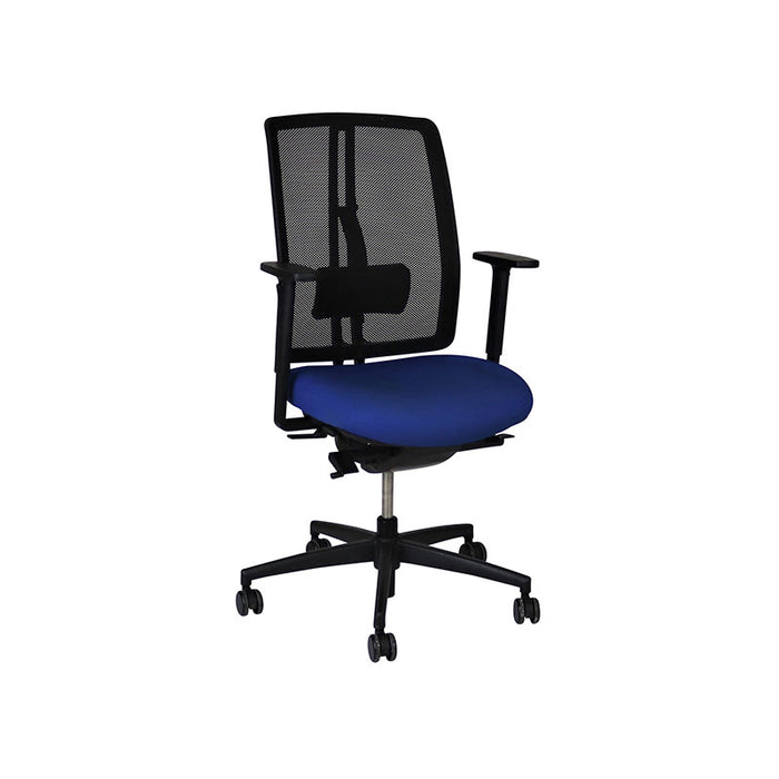 Dauphin dat-o Task Chair in New Blue Fabric