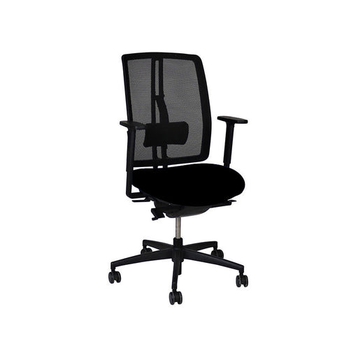 Dauphin dat-o Task Chair in New Black Fabric