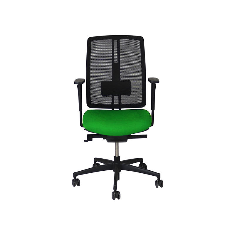 Dauphin dat-o Task Chair in New Green Fabric