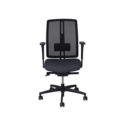 Dauphin dat-o Task Chair in New Grey Fabric