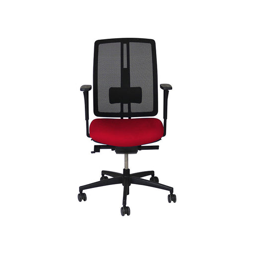 Dauphin dat-o Task Chair in New Red Fabric