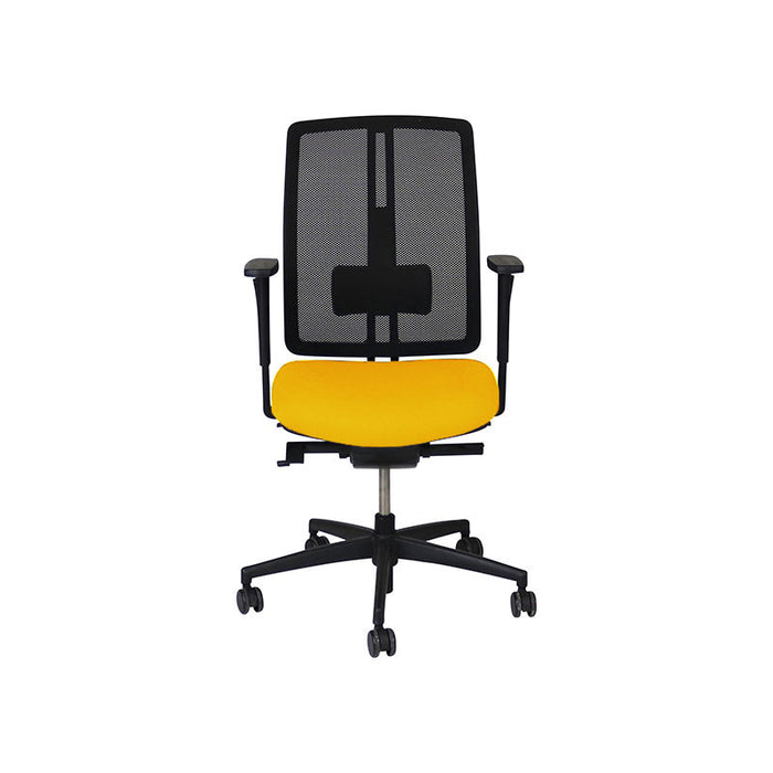 Dauphin dat-o Task Chair in New Yellow Fabric