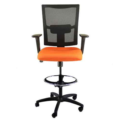 New Ergo Draughtsman in New Orange Fabric