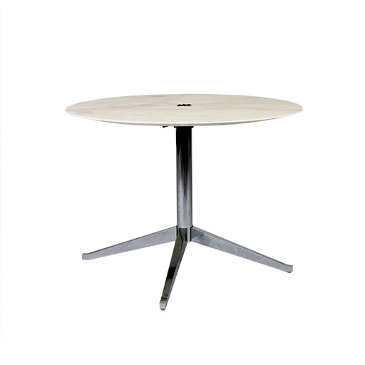 Bureau de table Florence Knoll + 4 Virta Eames EA 208