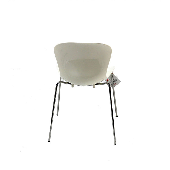 Fritz Hansen NAP Stacking Chair - White