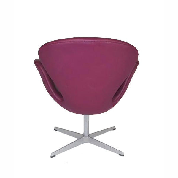Fritz Hansen - Swan  ( Purple Leather )