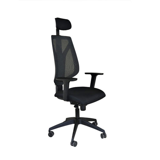 Global 1966 Task Chair with Headrest & Black Seat ( New Chair)