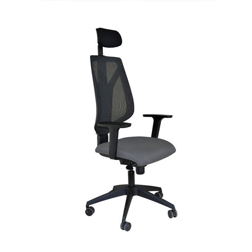 Global 1966 Task Chair with Headrest & Grey Seat ( New Chair)