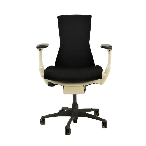 Herman Miller - Embody Task Chair Recovered New Black Fabric