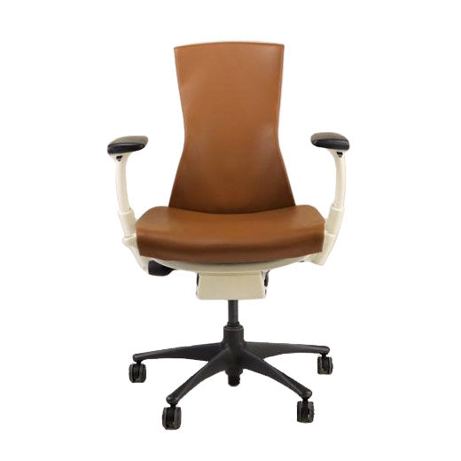 Herman Miller - Embody Task Chair Recovered New Tan Leather