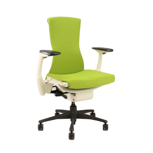 Herman Miller - Embody Task Chair Recovered New Green Fabric