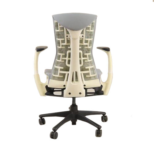 Herman Miller - Embody Task Chair Recovered New Grey Fabric