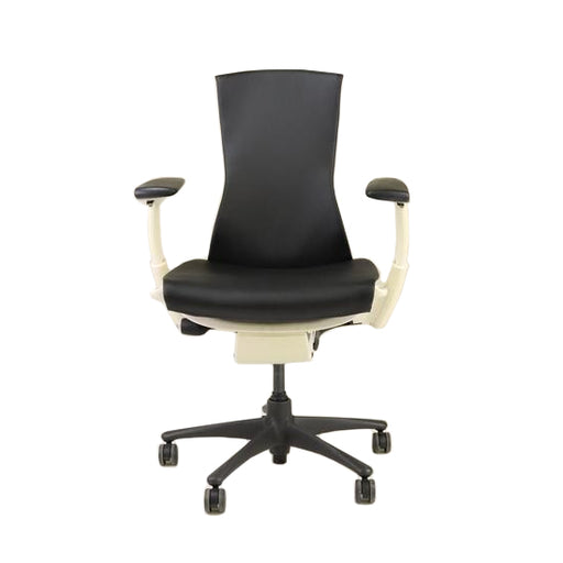 Herman Miller - Embody Task Chair Recovered Black New Leather
