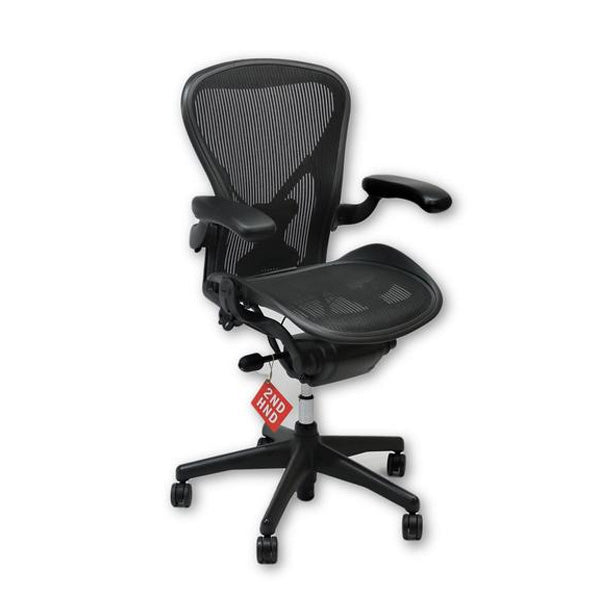 Herman Miller Aeron Chair Size B Full house with posture fit
