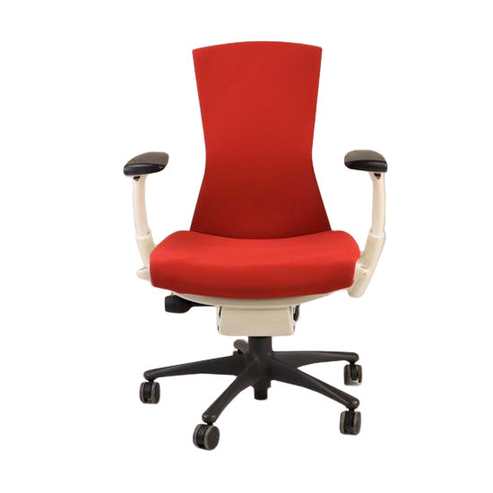 Herman Miller Embody Task Chair New Red Fabric