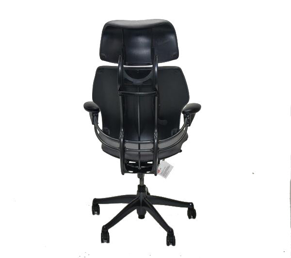 Humanscale Freedom Hi Back Chair with Grey with Headrest