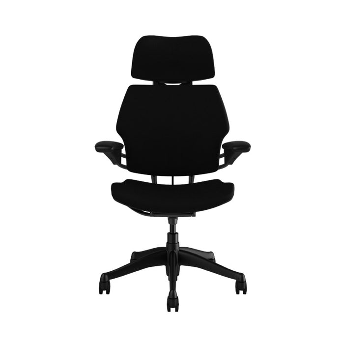 Humanscale Freedom Task Chair with Headrest (New Chair) Black