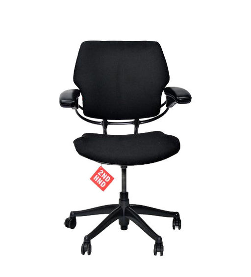 Humanscale Freedom Low Back Chair New Black fabric