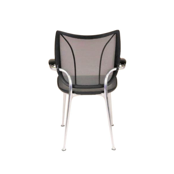 Humanscale Liberty Visitor chair with Aluminium Frame