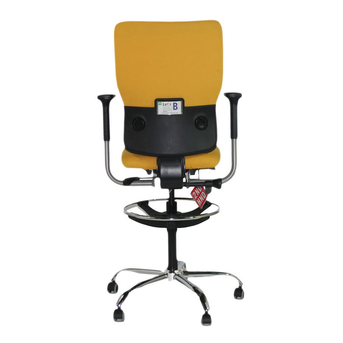 Steelcase Lets B Hi Back Draughtsman Chair with Arms