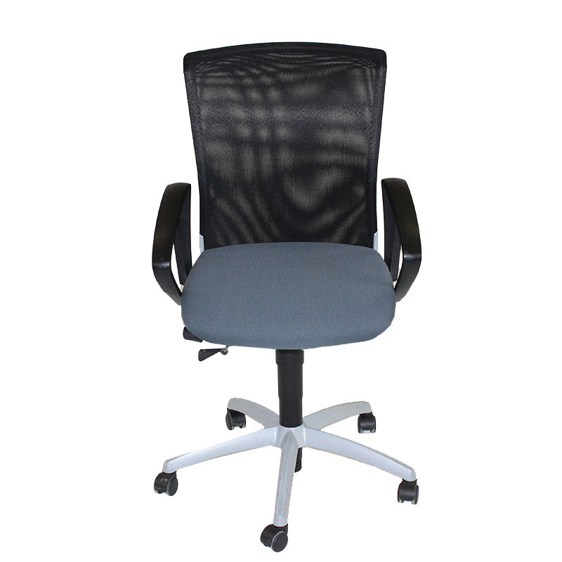 Sedus Chair mesh back with New Grey fabric seat