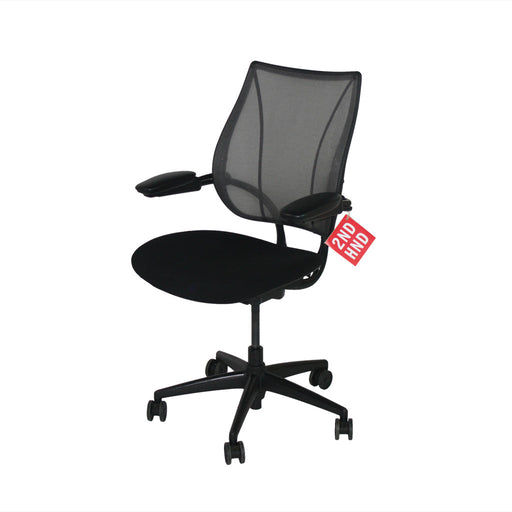Humanscale Liberty Task Chair in original Black Fabric