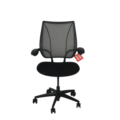 Humanscale Freedom Hi Back Chair with Burgandy Leather