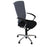 Sedus Chair Grey back new Black fabric seat Aluminium frame