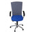 Sedus Chair Grey back new Blue fabric seat Aluminium frame